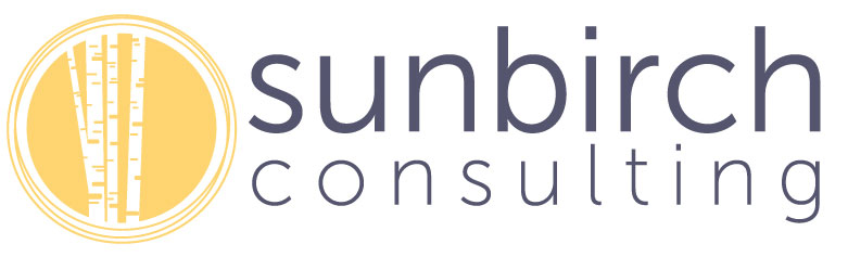 SunBirch Consulting logo with text